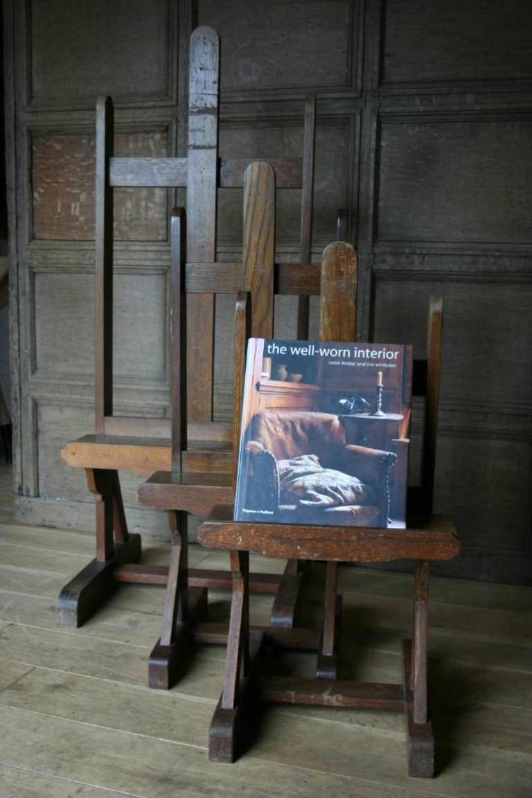 An Unusual Set Of Seven Table Top Easels